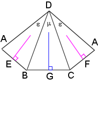 An unequal pyramid