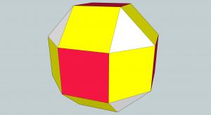 Cube corner trimmed